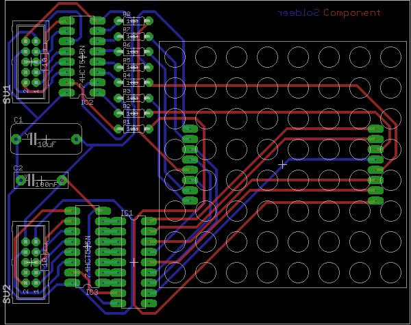 8*8 LED Matrix – Electronics projects and kits