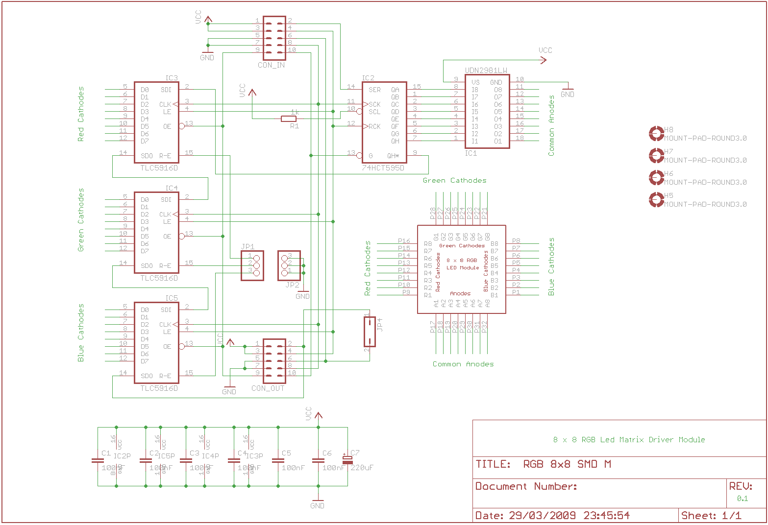 Led Wiring Diagram Controller Driver Library Smd