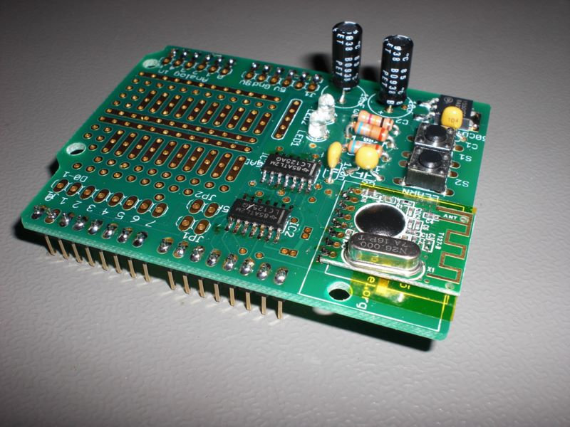 V06 shield with new CC2500 module