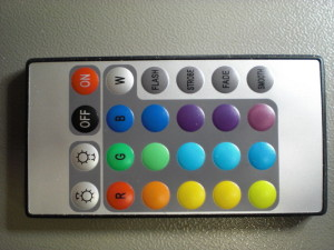 RGB LED Remote control