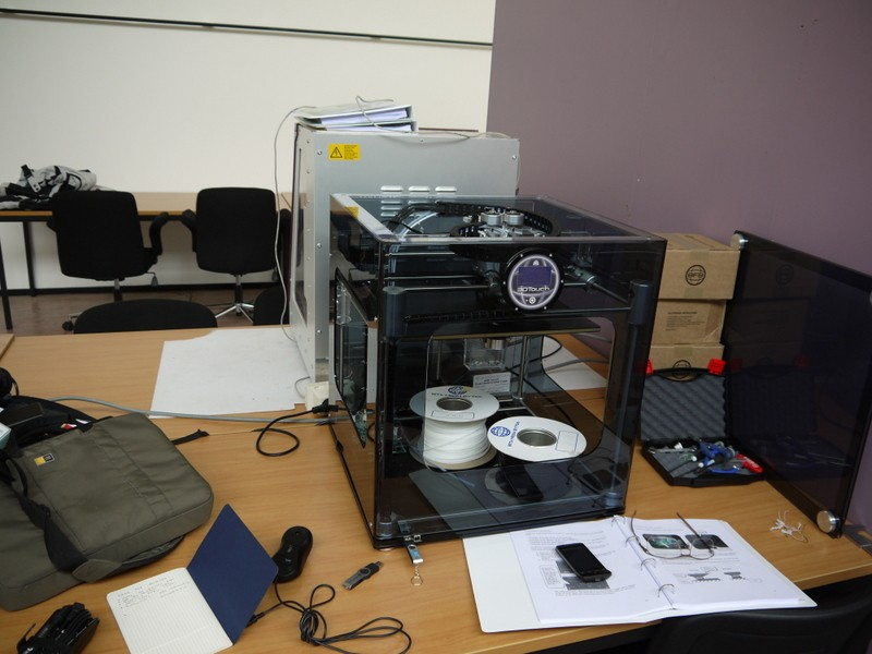 Bits from Bytes 3D printer