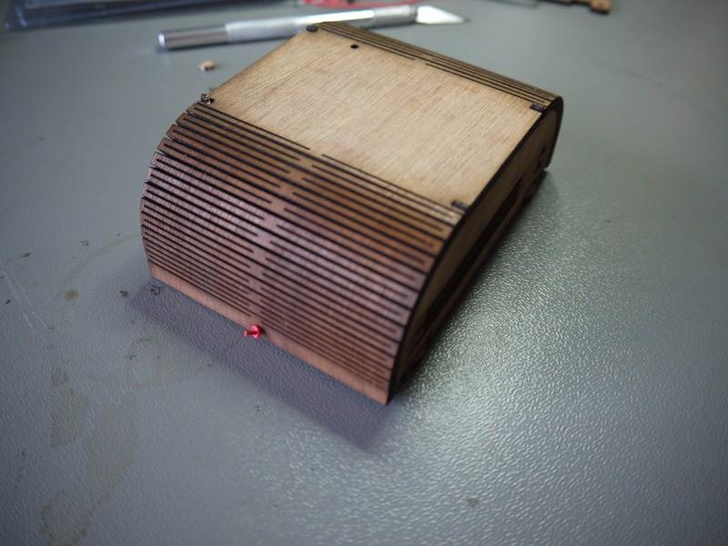 Hardwood triplex sensor case